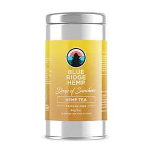 Blue Ridge hemp tea sunshine