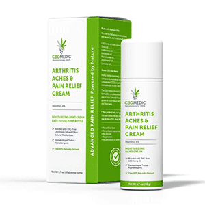 Charlottes Web cbd arthritis relief cream