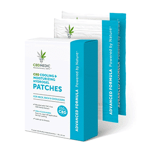 Charlottes Web cbd cooling hydrogel patches