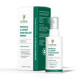 Charlottes Web cbd muscle joint pain spray