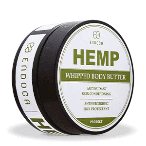 Endoca cbd hemp body butter