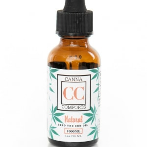 Canna Comforts CBD Isolate Oil Review & Coupon Code