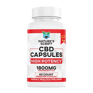 Natures Script cbd capsules high potency