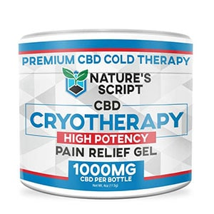 Natures Script cbd pain gel