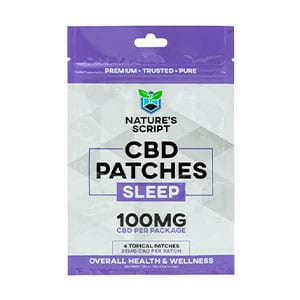 Natures Script cbd patches for sleep