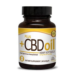 Plus CBDoil cbd soft gel capsules gold formula