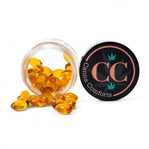 Canna Comforts Full-Spectrum CBD Softgels
