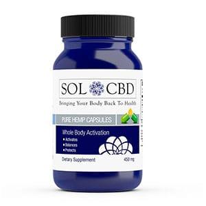 Sol CBD cbd gel capsules