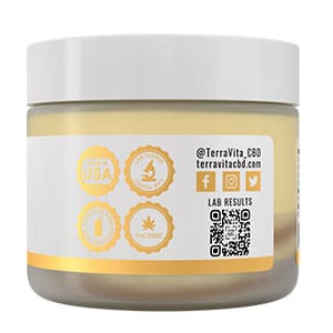 Terra Vita cbd body butter