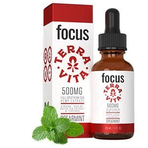 Terra Vita cbd oil tincture focus