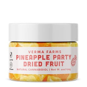 Verma Farms cbd pineappe dried fruit