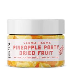 Verma Farms cbd pineappe dried fruit