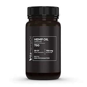 Vita Hemp Oil cbd capsules thc free