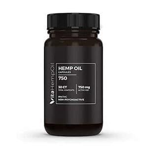 Vita Hemp Oil cbd capsules