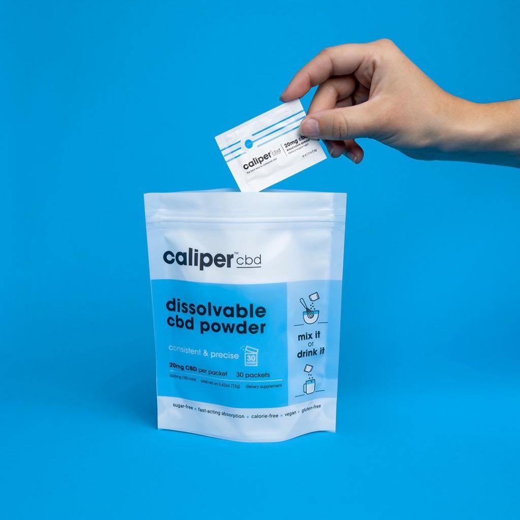 Caliper Dissolvable CBD powder