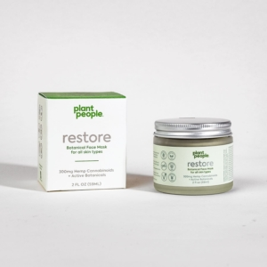 Plant People Restore Face Mask