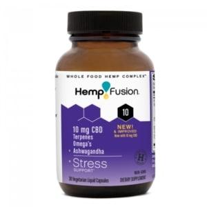 HempFusion CBD Capsules for Stress