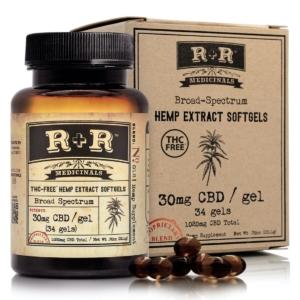 R+R Medicinals Broad Spectrum Softgels