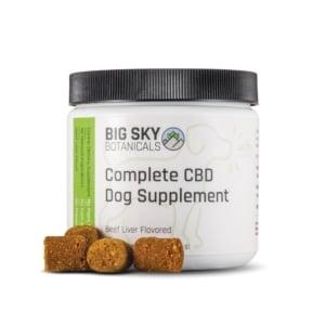 Big Sky Botanicals CBD Dog Supplement