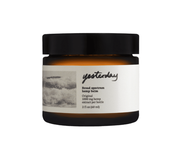 Yesterday Wellness, CBD Balm for Pain Relief