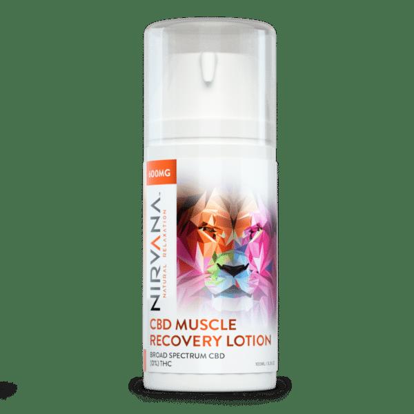 Nirvana CBD, Muscle Recovery Lotion