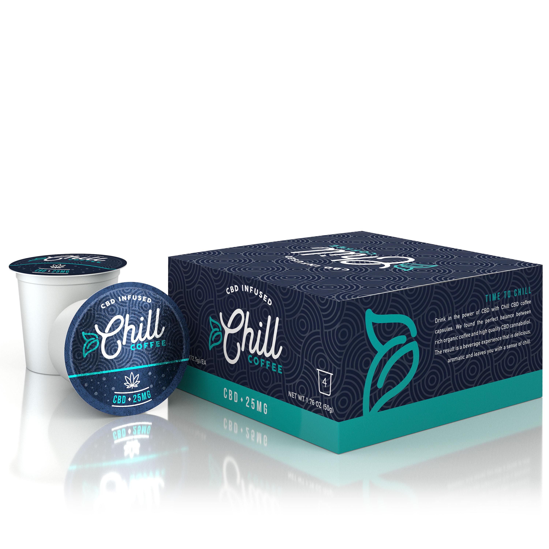 Chill CBD Coffee (4 pack)
