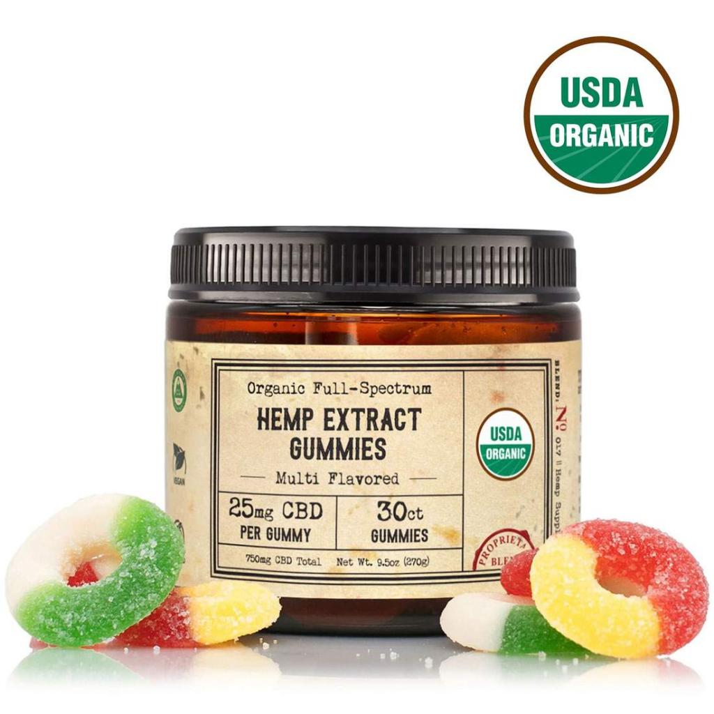 25mg FS Organic CBD Gummies with label min 1100x1100