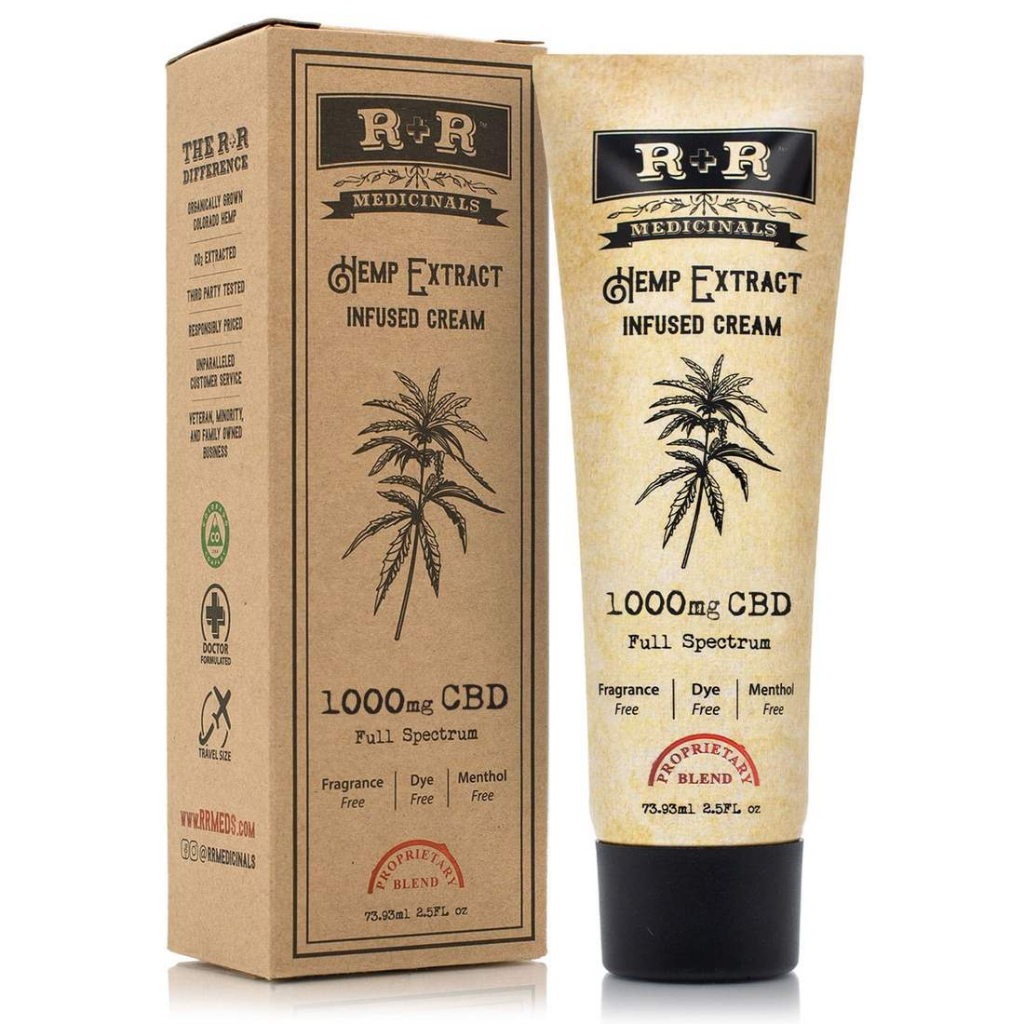 R+R Medicinals CBD Cream