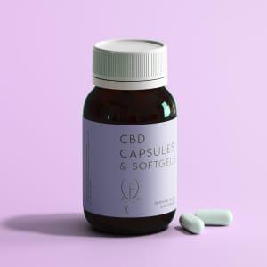 CBD Capsules, Pills, & Softgels