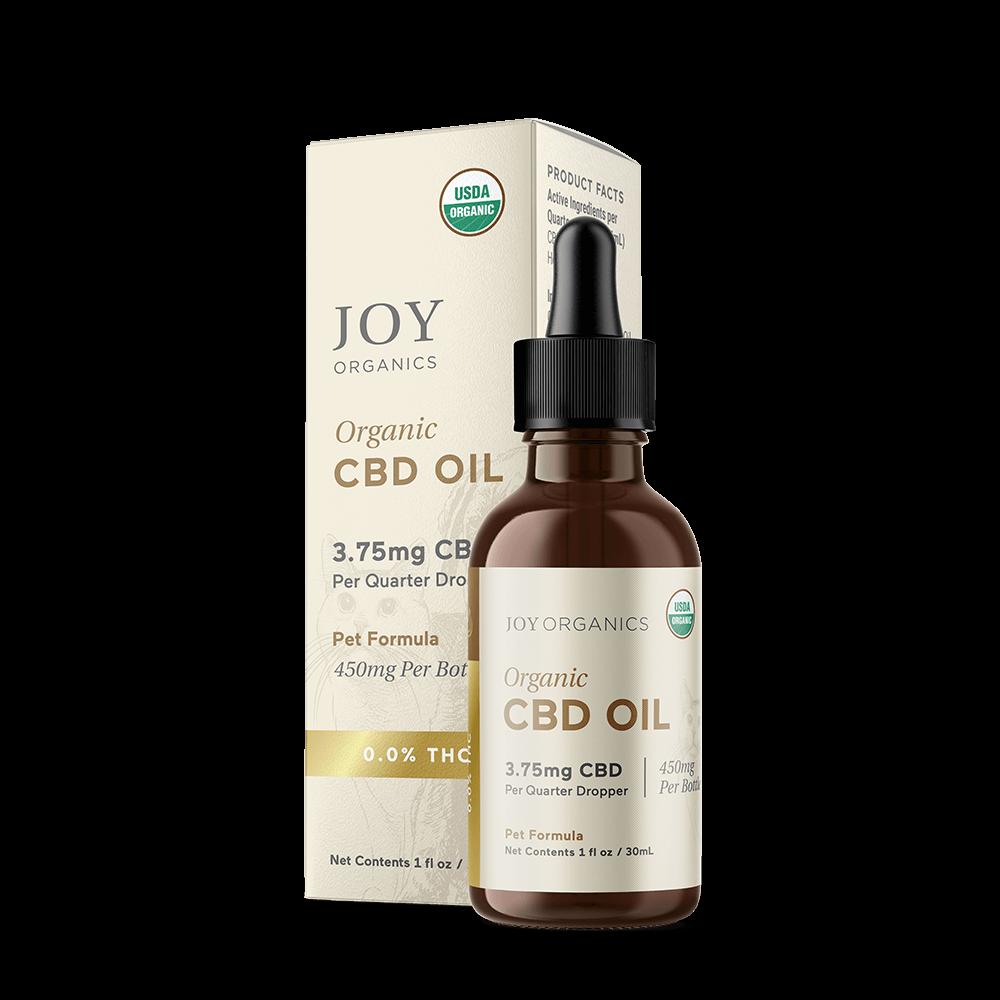Joy Organics USDA-Tincture Pet CBD Oil